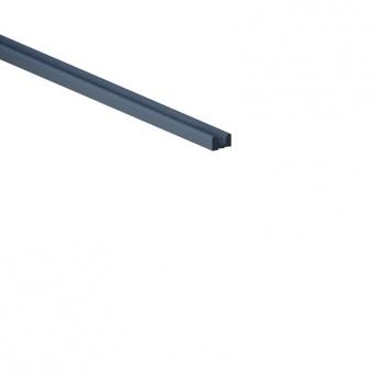 System Alu Profil-Abschlussleiste CUBE 179cm anthrazit Bild 1