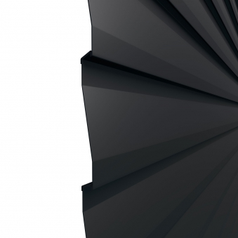 Einzelprofil Traumgarten System Metall Basic anthrazit 179x15cm Bild 2