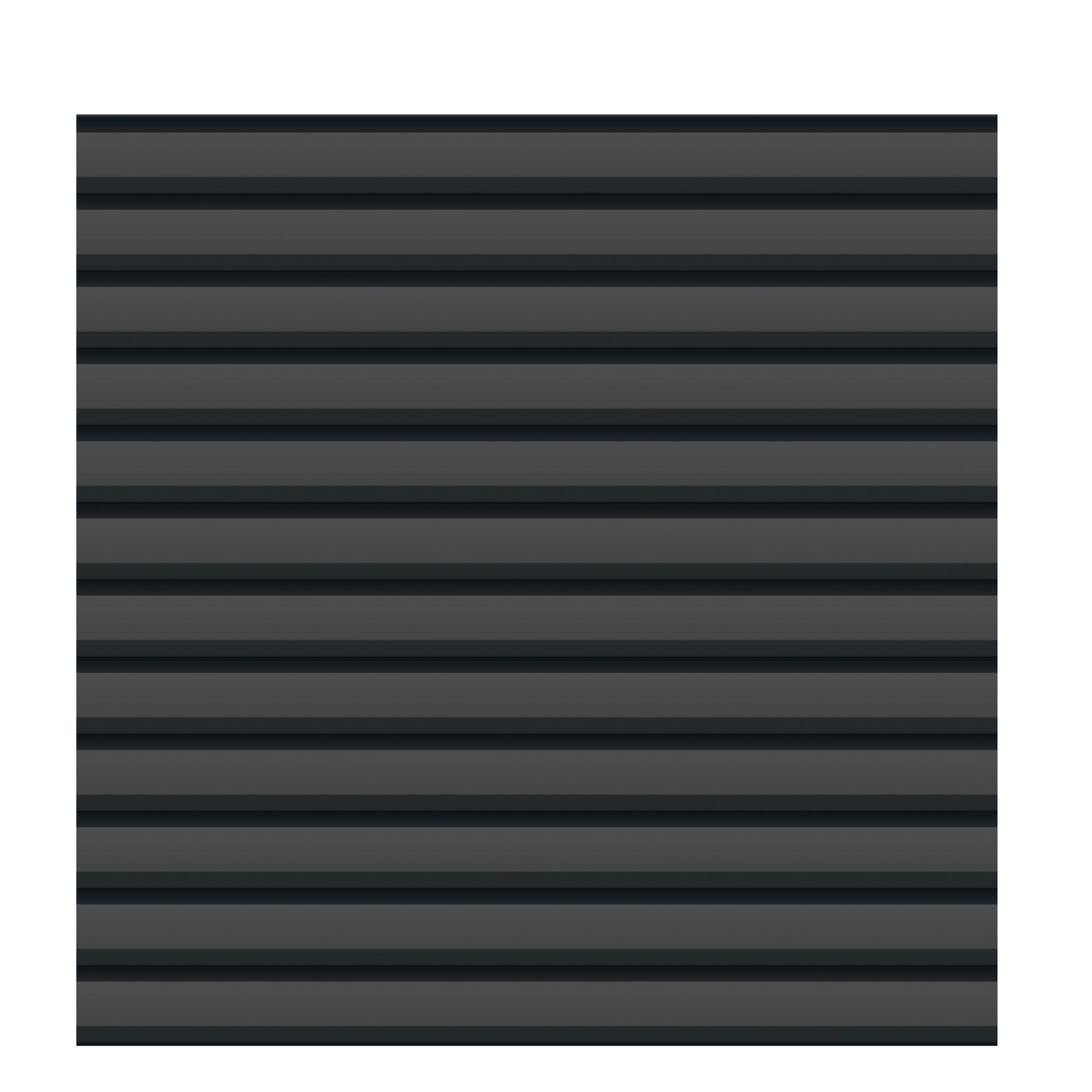 Sichtschutzzaun Traumgarten System Metall Basic anthrazit 179x180cm Bild 1