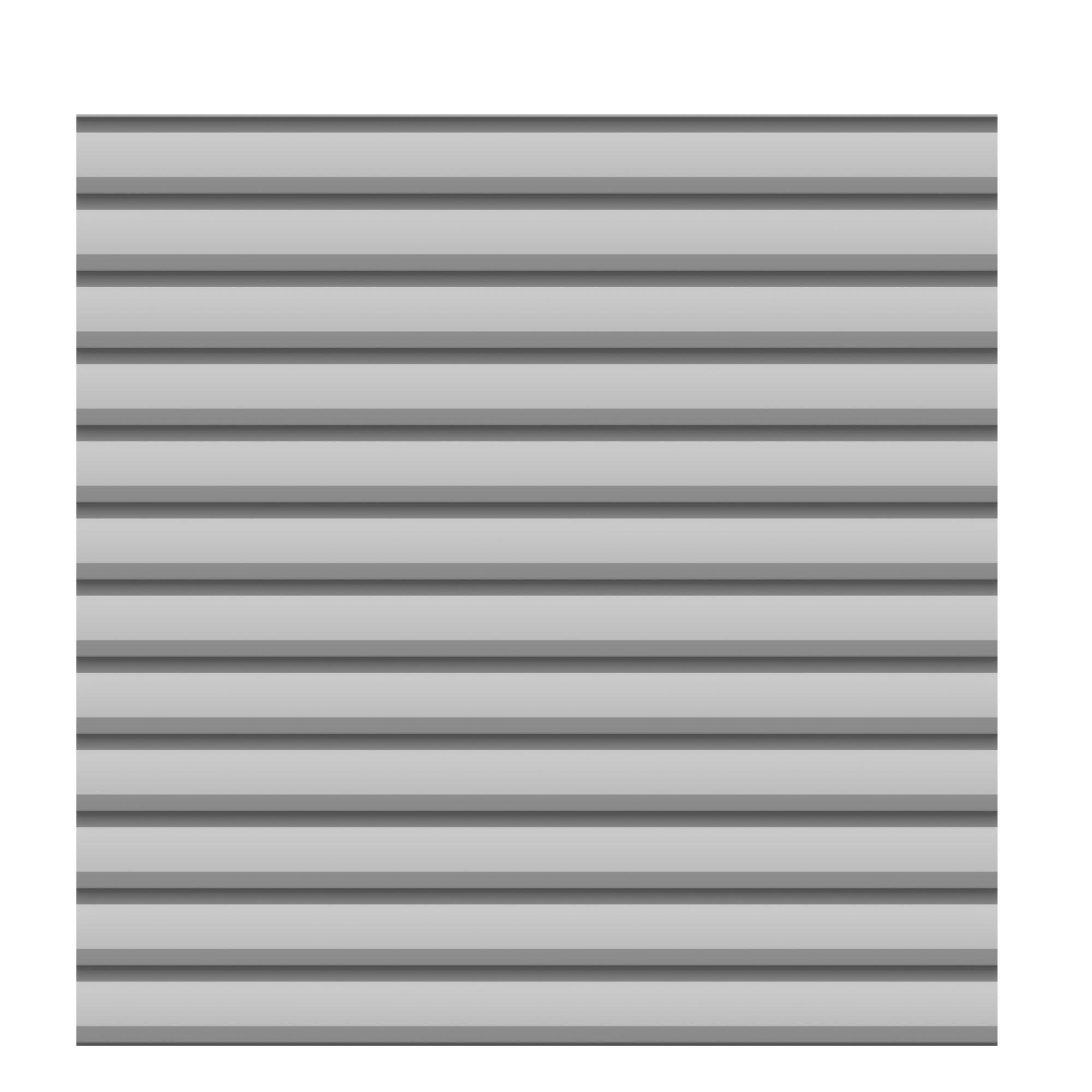 Sichtschutzzaun Traumgarten System Metall Basic silber 179x180cm Bild 1