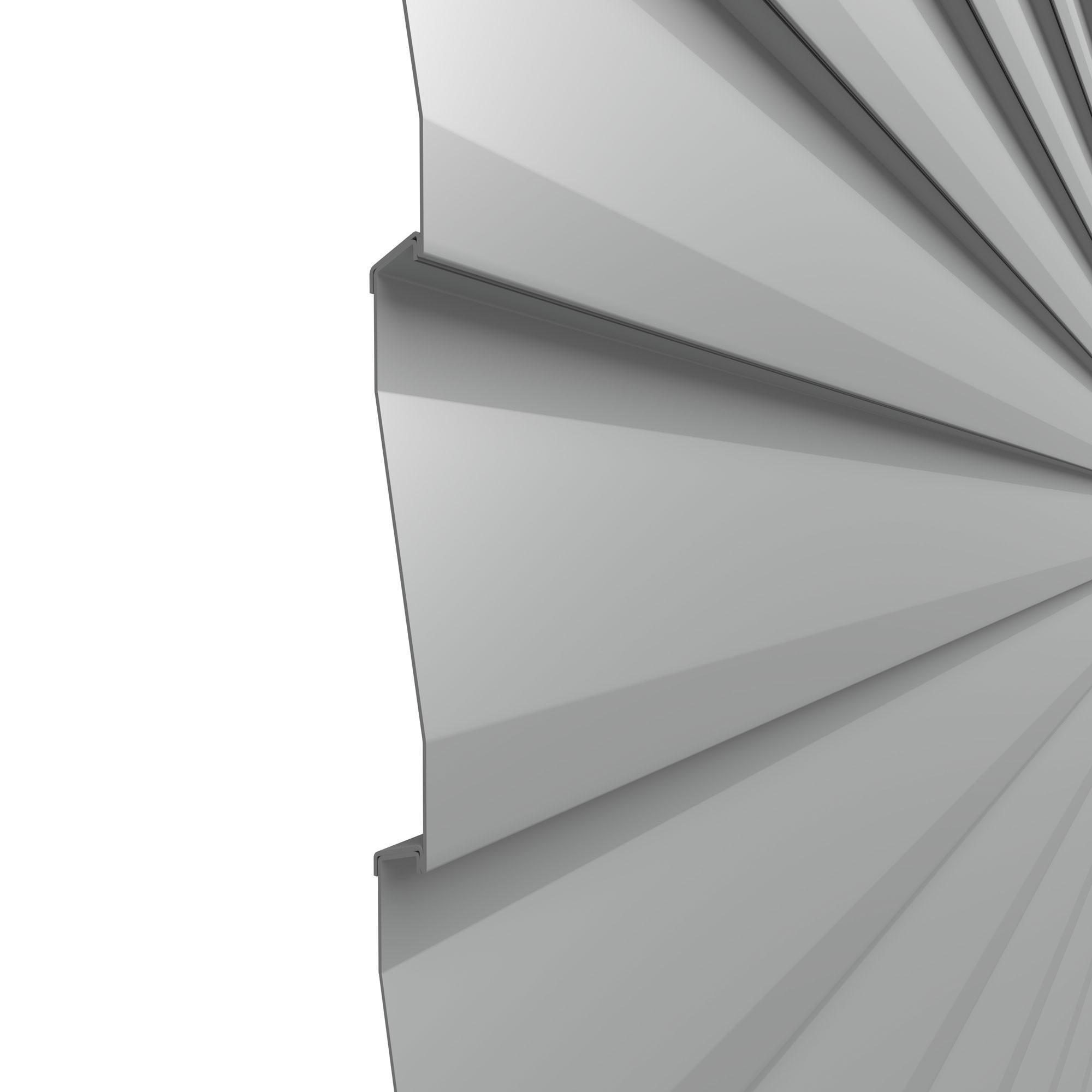 Sichtschutzzaun Traumgarten System Metall Basic silber 179x180cm Bild 2