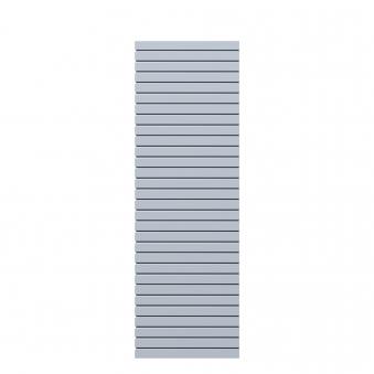Sichtschutzzaun Traumgarten System Metall Rhombus silber 60x180cm Bild 4