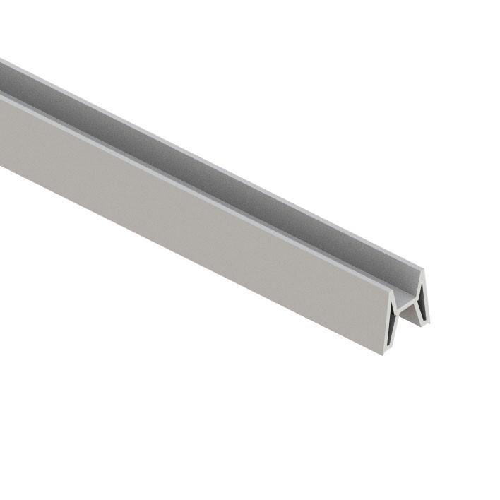 Adapterleiste TraumGarten für System Dekorprofil silber 180cm Bild 1
