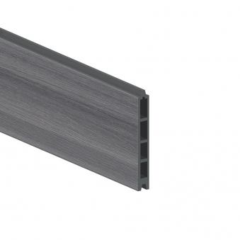 Sichtschutzzaun System WPC Einzelprofil Platinum grau 178cm Bild 1