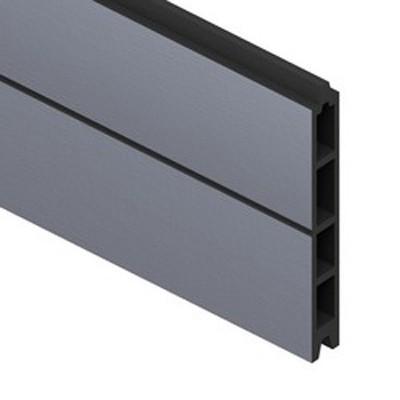 sichtschutzzaun system wpc einzelprofil anthrazit 178cm. Black Bedroom Furniture Sets. Home Design Ideas