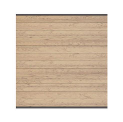 sichtschutzzaun system wpc zaunfeld set sand anthrazit 178x183cm bei. Black Bedroom Furniture Sets. Home Design Ideas
