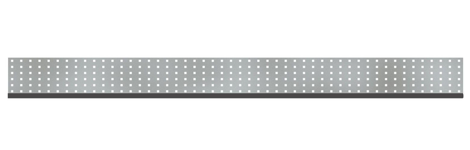 Sichtschutzzaun TraumGarten System Dekorprofil Edelstahl Gamma 178x15 Bild 1