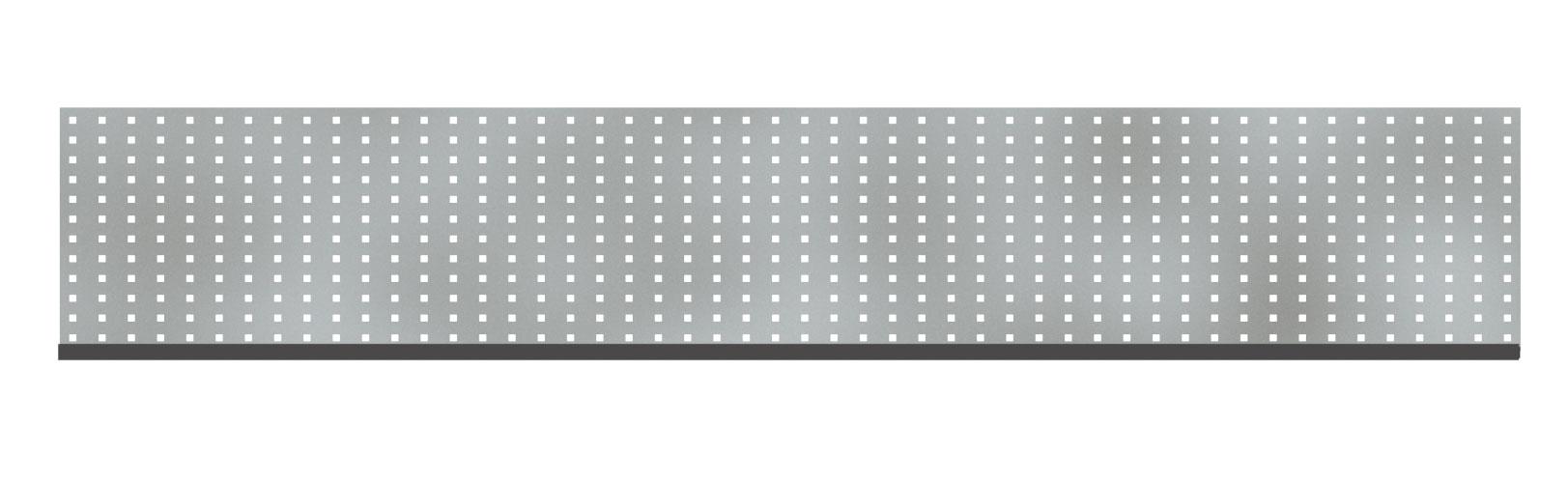 Sichtschutzzaun TraumGarten System Dekorprofil Edelstahl Gamma 178x30 Bild 1