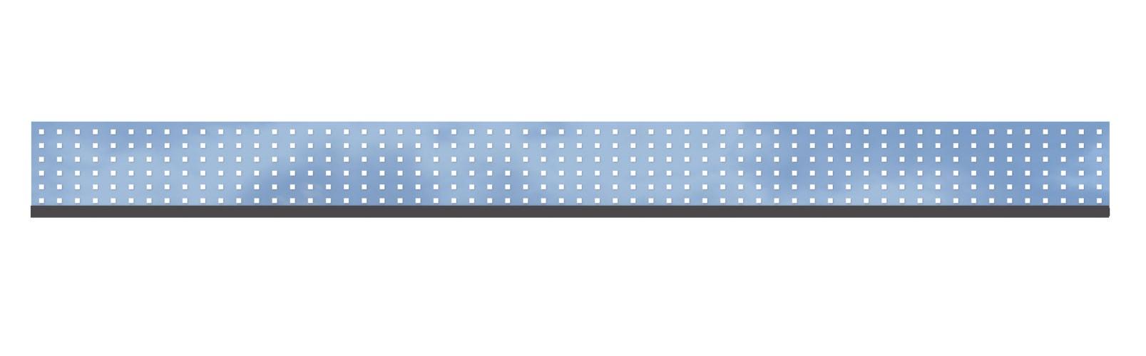 Sichtschutzzaun TraumGarten System Dekorprofil Glas Theta 178x15cm Bild 1
