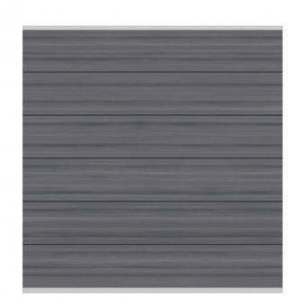 Sichtschutzzaun Traumgarten System WPC Platinum XL grau 178x183cm Bild 1
