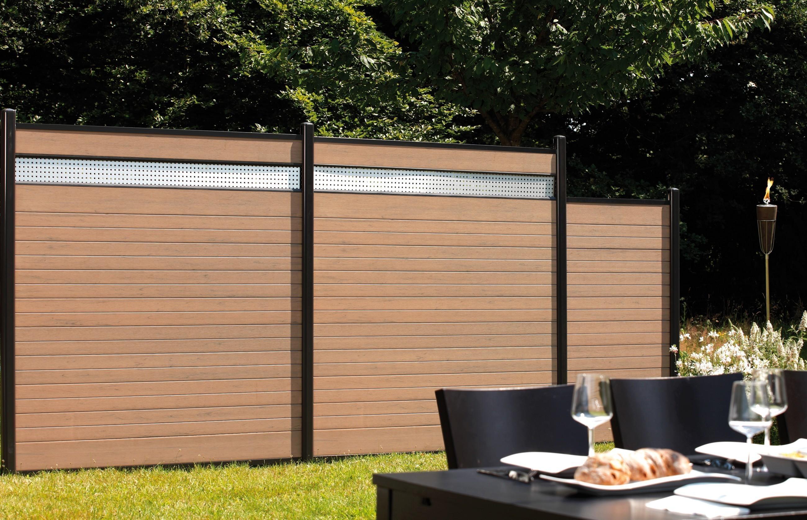 system wpc tor classic din links 98x179cm sand silber bei. Black Bedroom Furniture Sets. Home Design Ideas