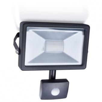 LED-Strahler / Baustrahler Smartwares Bewegungsmelder 20 Watt schwarz Bild 1