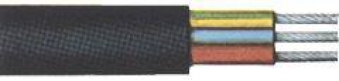 Erdkabel NYY-J 3x1,5mm² 25m-Ring Bild 1