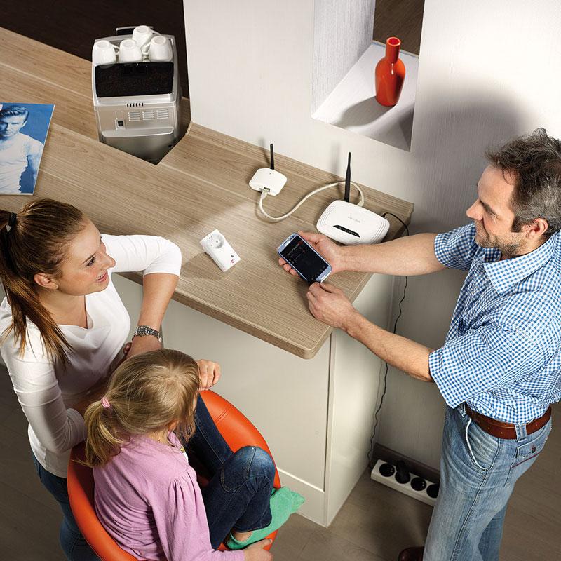 Brennenstuhl Brematic Home Automation Gateway GWY 433 Bild 2