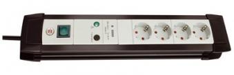 Brennenstuhl Steckdosenleiste Premium-Line Überspannung 1,8m 4-fach Bild 1