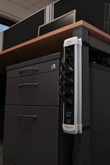 Brennenstuhl Steckdosenleiste Premium-Line 4-fach schwarz/grau 1,8m Bild 2