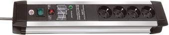Brennenstuhl Steckdosenleiste Premium-Protect-Line 4-fach Schalter Bild 1