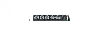 Brennenstuhl Steckdosenleiste Super-Solid 5-fach Schalter schwarz/grau Bild 1