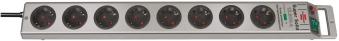 Brennenstuhl Steckdosenleiste Super Solid 8-fach Schalter silber Bild 1