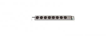 Brennenstuhl Steckdosenleiste Super Solid Line 8-fach Schalter silber Bild 1