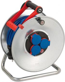 Brennenstuhl Garant S Kabeltrommel IP 44 Kunststoff blau 50m Bild 1