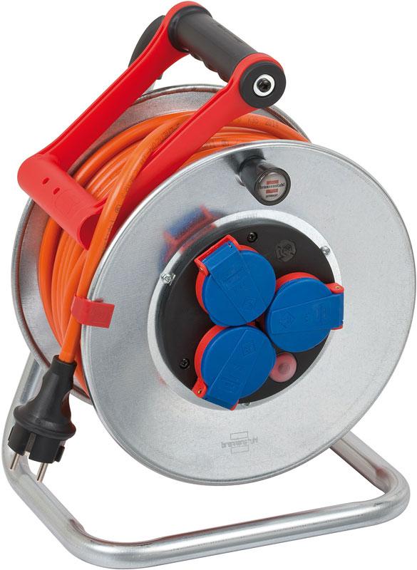 Brennenstuhl Garant S Kabeltrommel IP 44 orange 25m Bild 1