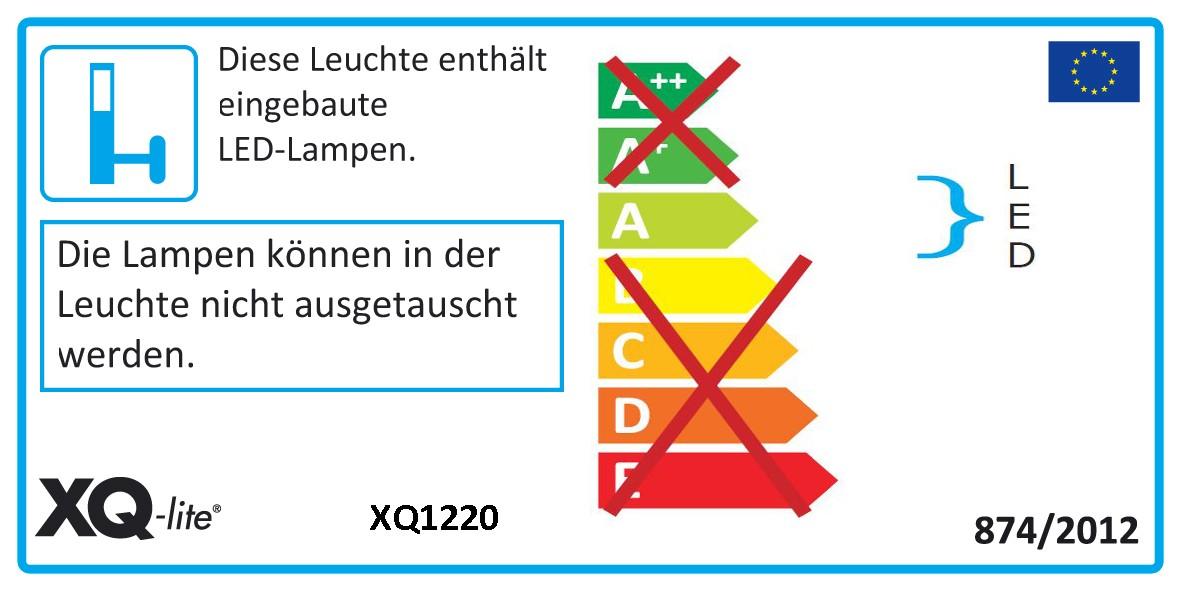 Baustrahler / LED Fluter XQ 1220 Smartwares Alu IP 44 20 W grau Bild 2