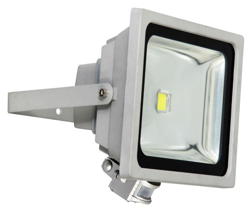 Baustrahler / LED Fluter XQ1226 Smartwares mit Bewegungsmelder 50W Bild 1