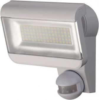 Brennenstuhl LED-Strahler Premium City IP 44 40 W mit Bewegungsm. weiß Bild 1