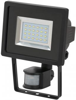 Brennenstuhl SMD-LED Leuchte L DN 2405 12 W mit Bewegungsmelder schw. Bild 1