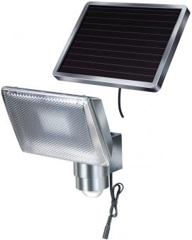 Brennenstuhl Solar LED-Strahler mit Infrarot-Bewegungsmelder Alu Bild 1