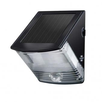 Brennenstuhl Solar LED-Wandleuchte SOL 04 plus mit Bewegungsm. 2x0,5W Bild 1