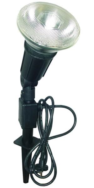 garten scheinwerfer strahler 1 flammig mit erdspie par38 bis 100w bei. Black Bedroom Furniture Sets. Home Design Ideas