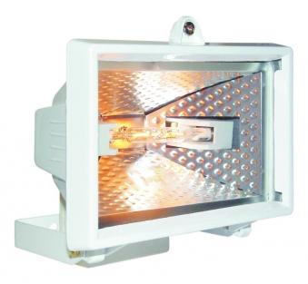 halogenstrahler baustrahler smartwares ip44 wei 120 watt bei. Black Bedroom Furniture Sets. Home Design Ideas