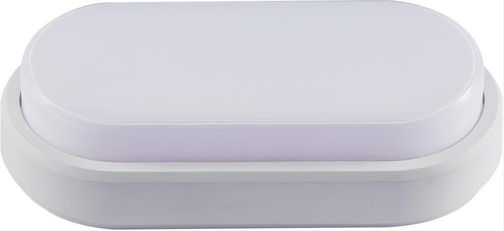 LED Armatur oval 10W 4000K IP54 weiß Bild 1