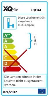 LED Baustrahler / LED-Strahler XQ-lite XQ 1161 IP65 10 Watt Bild 2