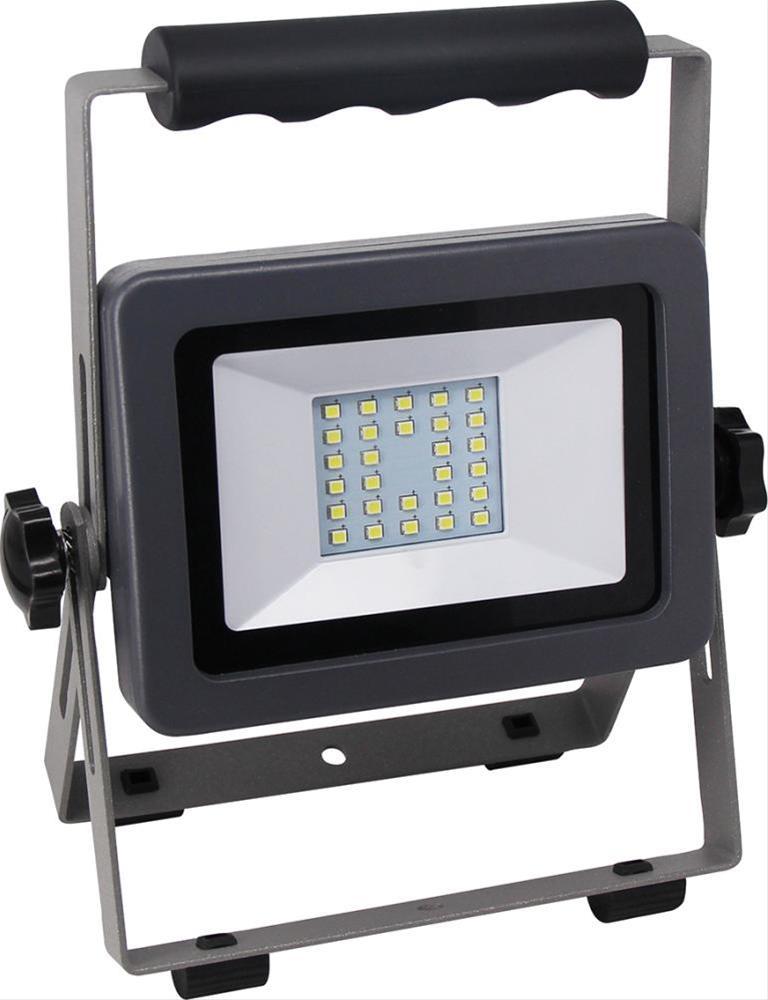 LED Fluter Flare 20W auf Ständ schwarz-silber Bild 1