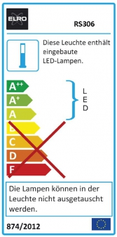 LED Steinleuchte 3er Set für außen inkl. 12V Trafo Bild 2