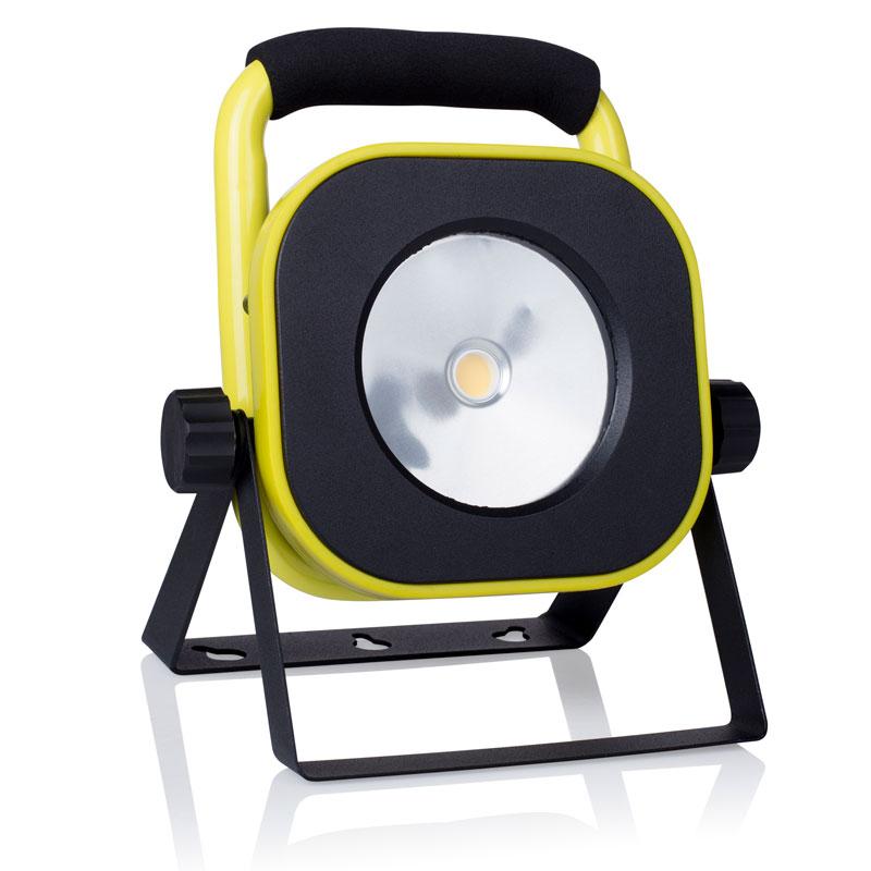 LED-Strahler / Baustrahler CLB1-C16Y Smartwares 16Watt schwarz/gelb Bild 1