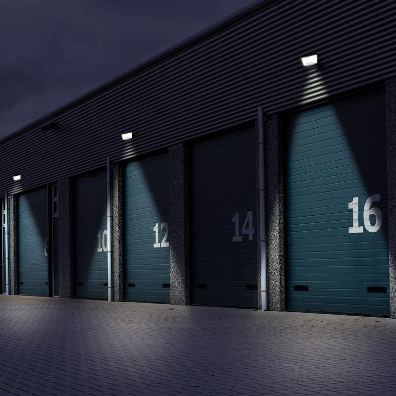 LED-Strahler / Baustrahler / Fluter FL1-B30B Smartwares 30Watt schwarz Bild 2