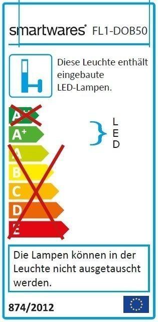Smartwares LED-Scheinwerfer FL1-DOB50 50W 3750lm Bild 2