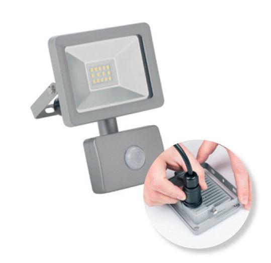 Smartwares LED-Strahler Sicherheitsstrahler SL1-DOB10 10W 750lm Bild 1