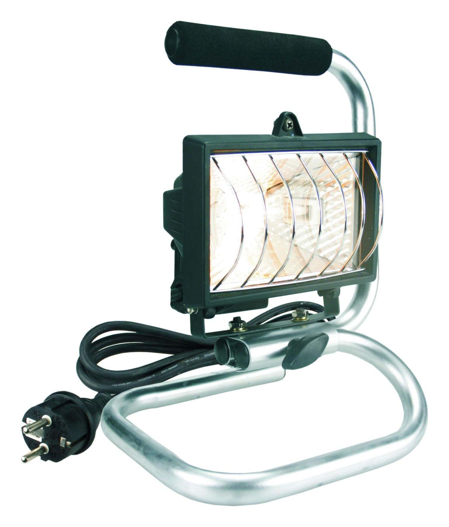 Baustrahler / Halogenscheinwerfer / Halo-Bau-Flutlicht 120