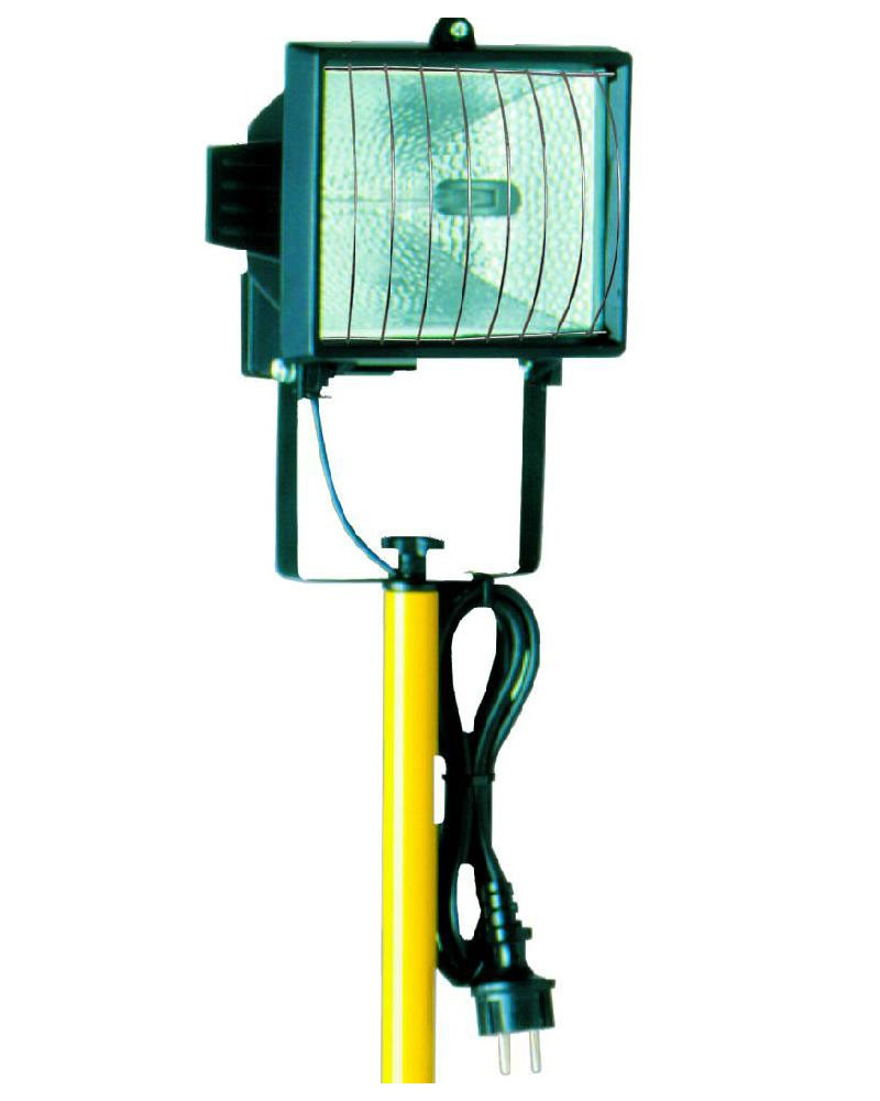 Halogenstrahler Mit Stativ IP20 400 Watt Bild 1