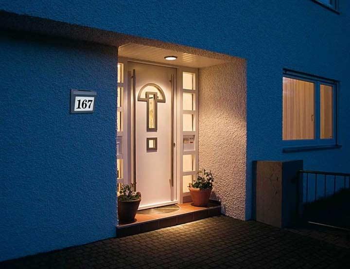 Brennenstuhl Solar Hausnummer Beleuchtung Solar Power SH 4000 4 LEDs Bild 2