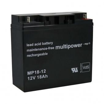 Batterie MP 18-12/ 12V 18 AH für Güde Stromerzuger GSE 5500 / GSE 6701 Bild 1