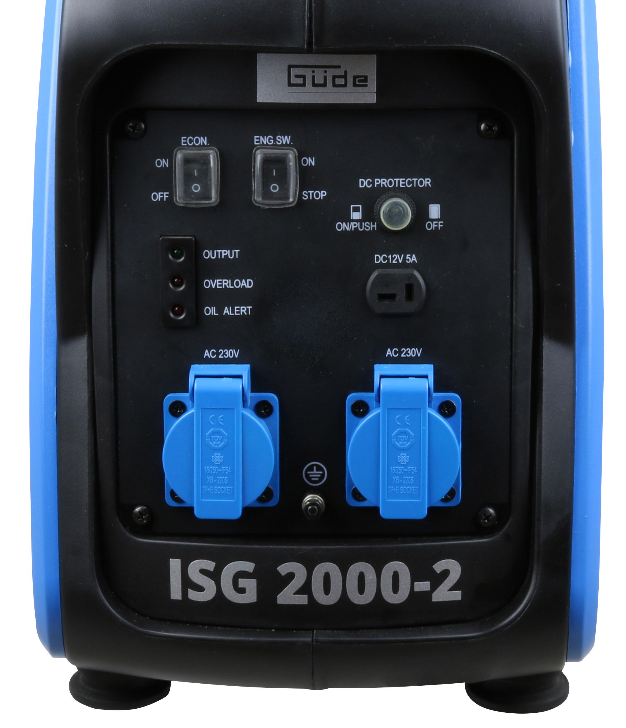 Inverter Stromerzeuger ISG 2000-2 Güde Bild 2