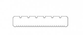 Terrassendiele Lärche 25x145mm Länge 300 cm Bild 3