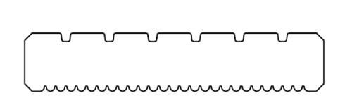 Terrassendiele Nadelholz KDI grau 28 x 145 mm Länge 300 cm Bild 2