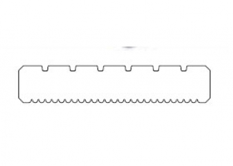 Terrassendiele Nadelholz kdi braun 28 x 145 mm Länge 300 cm Bild 2